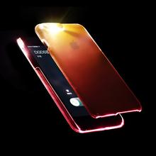 来电闪iphone6SPLUS手机壳苹果6S保护套超薄4.7透明变色5.5硬壳6S