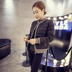 2015冬装新款韩版棉服修身显瘦棉衣外套小棉衣短款女潮冬棉袄棉服