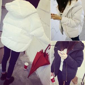 2015冬装新款女装韩版学生外套加厚棉袄宽松棉服大码棉衣女短款潮