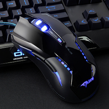 白鲨推荐 宜博魅影狂蛇M616加重有线大手鼠标CF游戏专用IE3.0手感