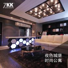 时尚摩登炫酷家装室内设计高端设计全国装修施工设计服务