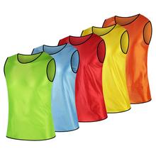 雷逸成人足球篮球训练背心 无系带对抗服马甲 分队组服广告衫号坎