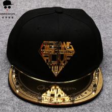 bigbang反光板GD棒球帽韩版权志龙帽子个性男女平檐帽平沿鸭舌帽