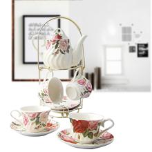 查看咖啡杯套装 咖啡套具 出口 简约 欧式茶具 水杯红茶架子礼盒 整套
