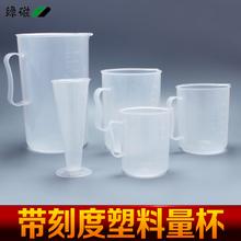 查看绿磁 加厚塑料量杯/刻度杯/液体量勺食品级酸奶杯奶茶杯烘焙工具
