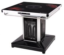 火焰山品牌多功能安全电暖桌取暖器烤火炉暖脚炉火锅桌孩子学习取