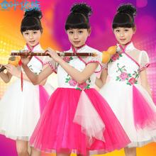 六一儿童演出服装幼儿舞蹈服少儿表演服饰女童古装公主蓬蓬裙礼服