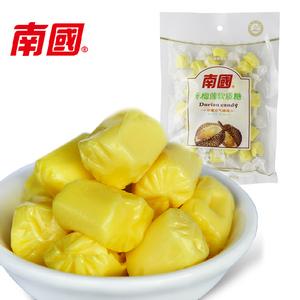 海南特产零食品 南国榴莲糖150g特浓榴莲味软质糖原汁原味水果糖