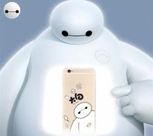 iPhone6plus手机壳硅胶苹果六透明保护套超薄防摔大白软壳4.7/5.5