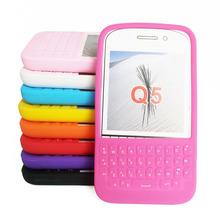 查看黑莓BlackBerry Q5手机壳硅胶套全键盘带字母按键保护防摔软壳
