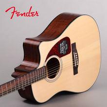 正品Fender 芬达CD140S/CD140SCE云杉单板民谣吉他
