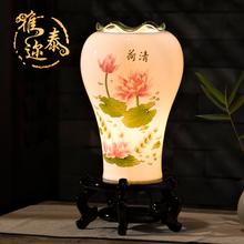 雅迩泰创意客厅卧室床头灯陶瓷香薰灯精油灯插电台灯香薰机熏香炉