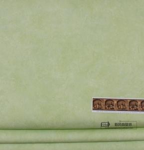 美国原装进口纯纸墙纸 美式绿色素色 客厅卧室大面积满铺 壁纸