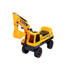 嘉百乐儿童挖掘机扭扭车滑行学步车 工程车玩具 炫动巨力神