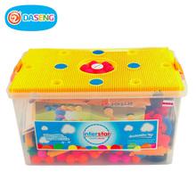 包邮乐恩玩具以色列进口interstar拼插积木益智创意情景玩具新品