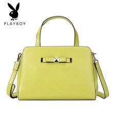 2017年新款凯莉包女手提包横款方形包包欧美时尚风格软面单肩手提