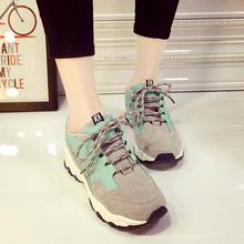 查看2015平底运动鞋女跑步鞋韩版潮单鞋休闲运动鞋子女阿甘学生女鞋秋