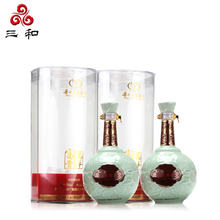 富贵万年 青瓷韵 500mLx2瓶 52度  浓香型白酒