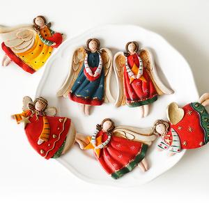 【萌小依】天使冰箱贴 磁贴 韩国创意 家居饰品可爱冰箱磁贴 大号