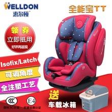 惠尔顿 汽车儿童安全座椅 全能宝TT ISOFIX/LATCH接口 9个月-12岁