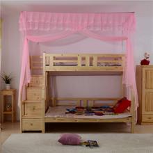 查看子母床一体 上下铺 衣柜 双层 高低学生儿童 压脚伸缩蚊帐不打墙