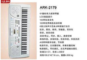 电子琴2179人气排行 超值 爱尔科ARK2179电子琴 61键标准款电子琴