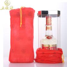 五粮液52度500ml浓香型华彩人生30典藏水晶装白酒礼盒装单瓶特价