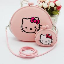 查看包邮Hello Kitty韩版女包/时尚可爱公主斜挎包单肩包儿童猫头包包