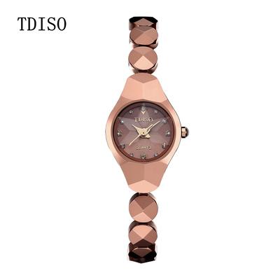 帝时欧正品手表女时尚韩版时装手链女表钨钢女士手表防水石英腕表