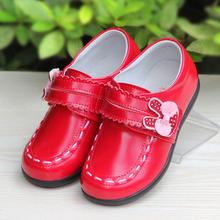 斯纳风女童鞋 儿童女童皮鞋 宝宝公主鞋 真皮单鞋2017秋季小童鞋