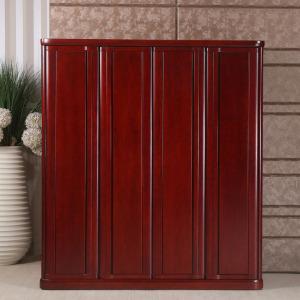 水曲柳衣柜全实木家具小户型储物柜卧室组合大衣橱厂家直销特价价格