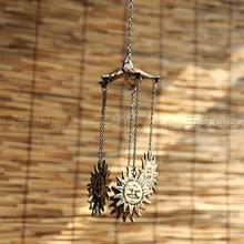 查看太阳神风铃 铸铁金属家居装饰品壁挂生日礼物饰品礼品酒吧挂饰