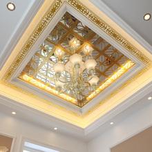 傲邦 集成吊顶 错层复式 镜面300铝扣板厨房卫生间餐厅天花材料
