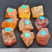 查看纯天然乌克兰原石原矿蜜蜡20-50克裸石5折促销 琥珀吊坠金珀桶珠