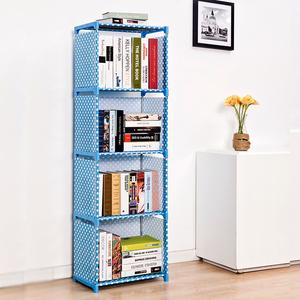 简易书架书柜人气排行 简易书架落地置物架学生儿童组合小 书柜桌上