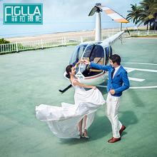 菲拉摄影海南海口丽江大连个性婚纱摄影一对一三亚海景婚纱照时尚