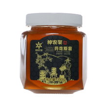 正宗神农架高档土蜂蜜纯天然农家自产野生高端药花原蜜包邮350g