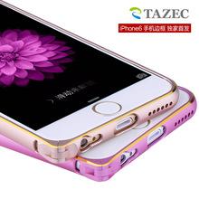 苹果6手机壳边框 iphone6金属边框 6苹果超薄保护套 新款圆弧4.7