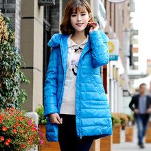 波司登冰飞羽绒服女装正品韩版獭兔大毛领修身中长款女冬装外套