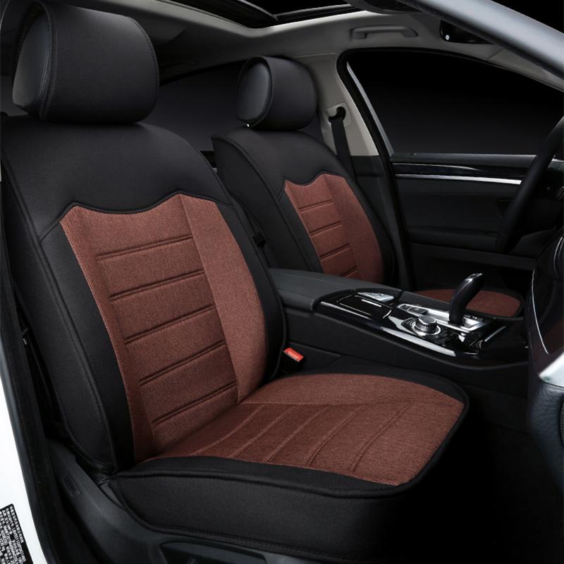全包马自达6阿特兹睿翼专用坐垫新马3CX7CX5昂克赛拉亚麻汽车坐垫