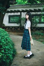 查看新款圆头复古森系学院风森女韩版松糕鞋厚底日系一字搭扣小皮鞋