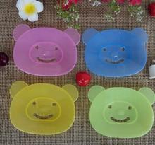 查看批发价礼品韩版小熊手工皂盒 可爱卡通创意肥皂盒 卫浴塑料香皂盒