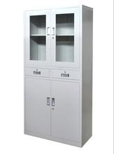 【万禾兴渝】中二抽玻璃文件柜/铁皮柜/办公室资料柜//财务档案柜