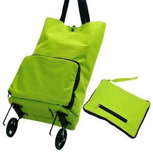 买菜车手拉包可折叠拖包两用拖拉包带轮子购物车袋拖轮包旅行拉车