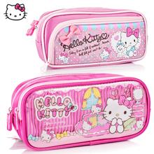 包邮 专柜正品Hello Kitty 凯蒂猫笔袋文具袋笔袋KT猫笔袋化装包
