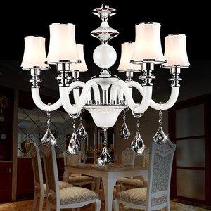 色现代简约客厅大厅创意吊灯餐厅卧室浪漫水晶吊灯价格:$1063.