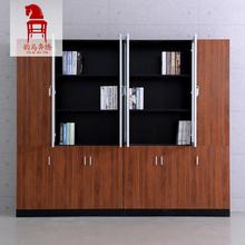 办公家具办公文件柜木质资料柜简约板式活动柜更衣柜带锁档案柜