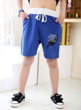 查看2015夏季新款季末特价 男童针织棉运动短裤 中大童运动短裤七分裤