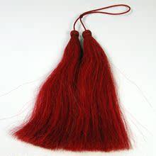 响牌正品红缨枪红樱 传统武术表演红缨枪红须 表演剑穗真正马尾巴
