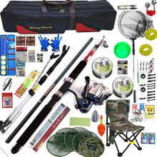 查看包邮 钓鱼竿 光威碳素5.4米手竿溪流竿+海竿钓鱼杆渔具套装组合